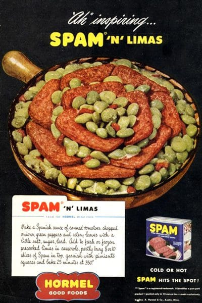 """Cold or hot SPAM hit's the spot. Is it just us, or are you also not a fan of this particular """"spot""""?"""